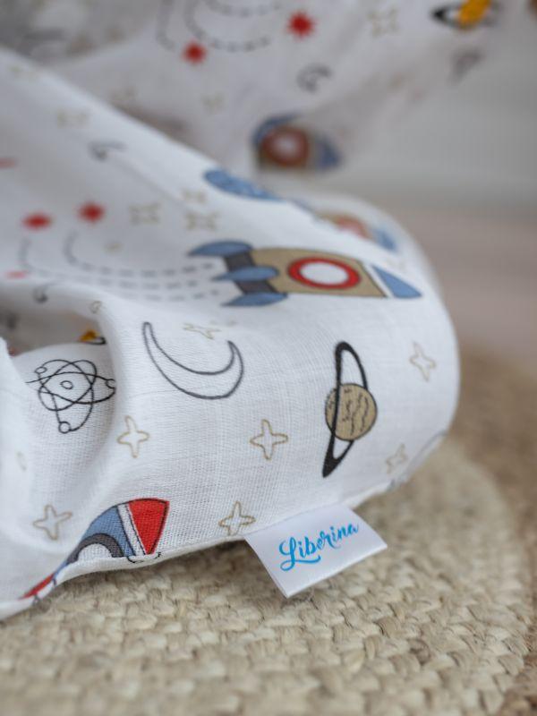 Liberina vreća za spavanje - jedan sloj pamučnog muslina - Rakete