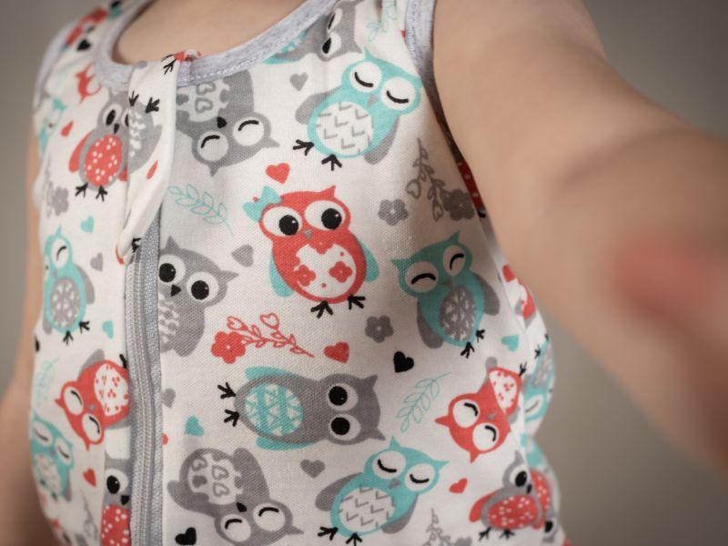 Liberina kratka vreća za spavanje - pidžama - Sove
