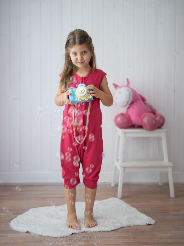 Liberina kratka vreća za spavanje - pidžama - Malina