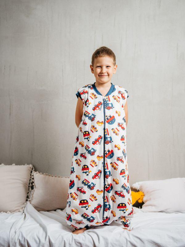 Liberina vreća za spavanje sa nogavicama - punjena - bez rukava - Brodići