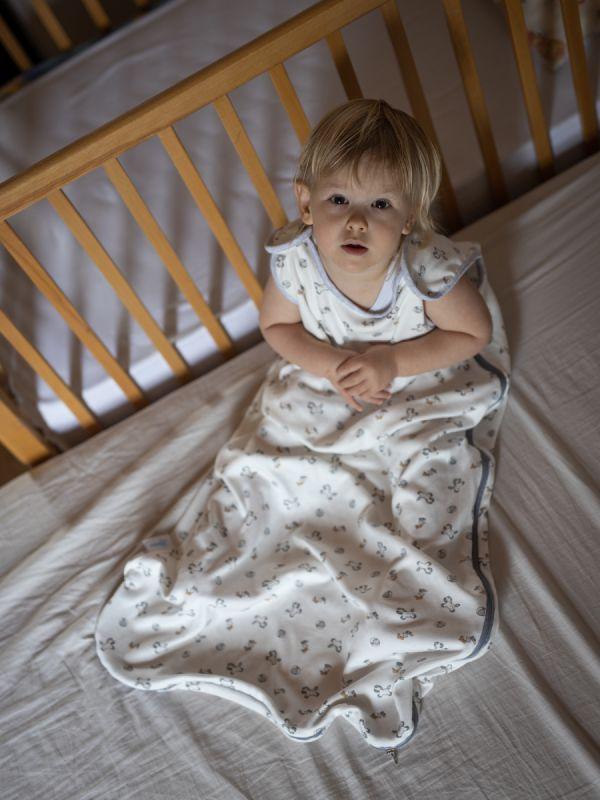 Liberina vreća za spavanje bez nogavica - dva sloja pamuka - bez rukava - Konjići