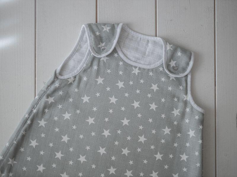 Liberina vreća za spavanje - dvostruki pamučni muslin - Zvezdice