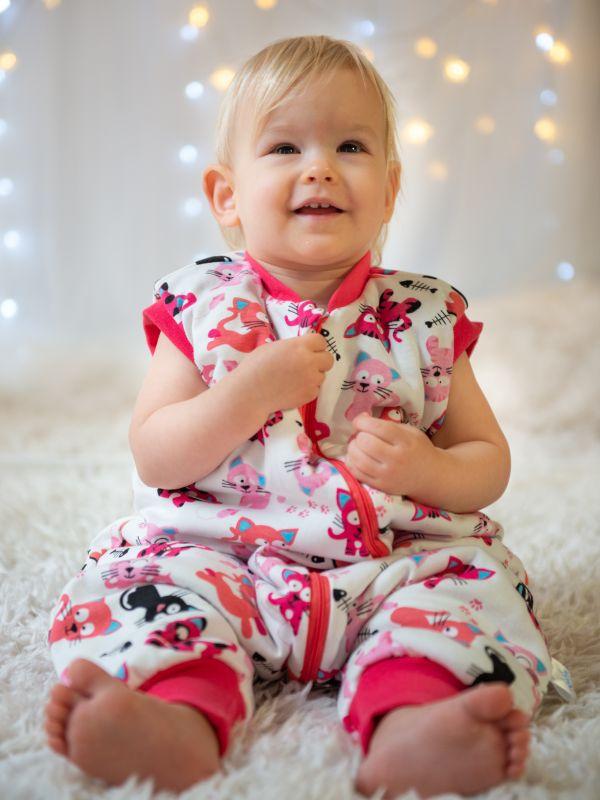 Liberina vreća za spavanje sa nogavicama - punjena - bez rukava - Mace